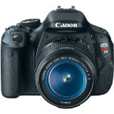 Black Friday Canon EOS Rebel T3i 18 MP CMOS Digital SLR Camera and DIGIC 4 Imaging