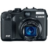 Black Friday Canon G12 10MP Digital Camera with 5x Optical Image Stabilized Zoom and 2.8 inch Vari-Angle LCD