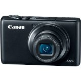 Black Friday Canon PowerShot S95 10 MP Digital Camera with 3.8x Wide Angle Optical Image Stabilized Zoom and 3.0-Inch inch LCD